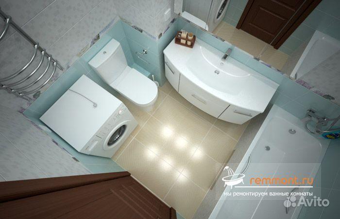 Ванная комната совмещенная с туалетом маленькая дизайн фото