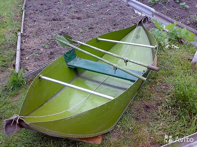 одноместная лодка складная