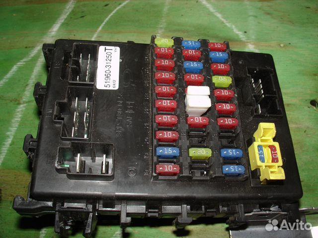 Блок предохранителей Nissan