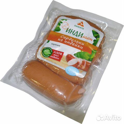 Колбаса из индейкиы