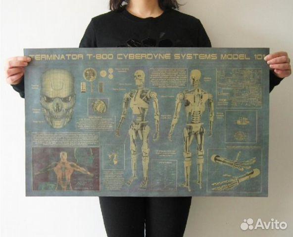 Плакат - схема Terminator T-