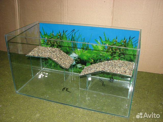 Сделать аквариум для черепах