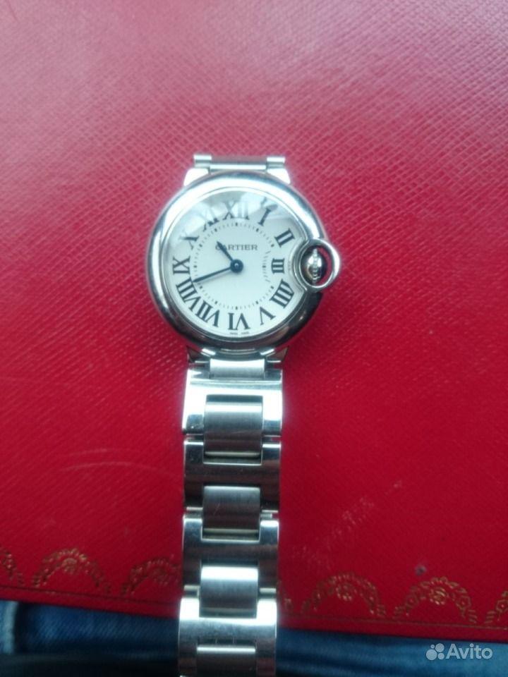 Купить французские часы Cartier Картье оригинал