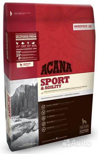 Сухой корм для собак Acana Sport & Agility 17кг