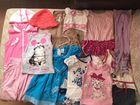Пакет одежды и обуви для девочки