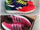 Кроссовки Reebok и Adidas