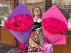 Розы Эквадор. 25 Роз. Доставка.Цветы.Букеты