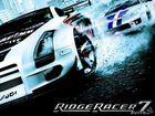 белый спортивный автомобиль Ridge Racer 7 игра скачать