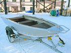 Алюминиевая моторная лодка Wyatboat 390Р новая