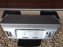 Крышка багажника купэ BMW E46