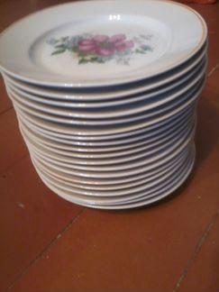 Тарелки фарфоровые, керамика СССР объявление продам