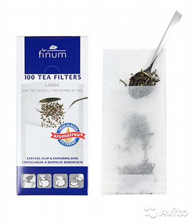 Фильтр пакет для заваривания чая 185x85 мм купить в Свердловской GB46