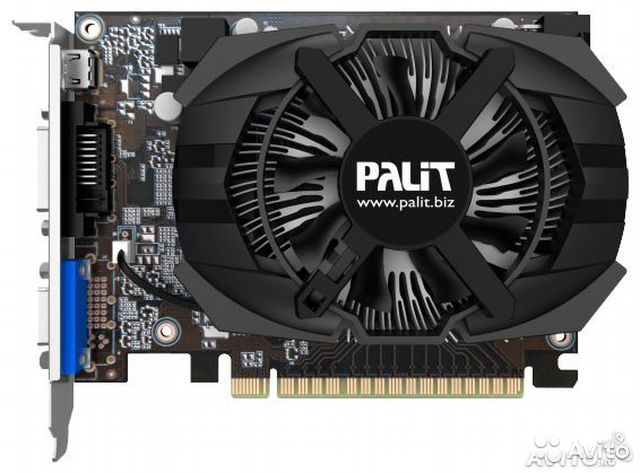 GeForce GTX650 1gb Palit— фотография №1