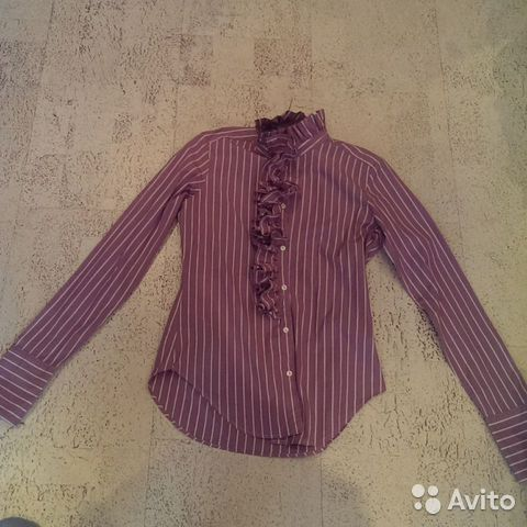 Продаю рубашку Ralph Lauren купить в Саратовской области на Avito ... 9ac6a62a092