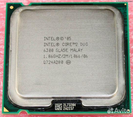 intel core 2 duo e6600 цена в москве: