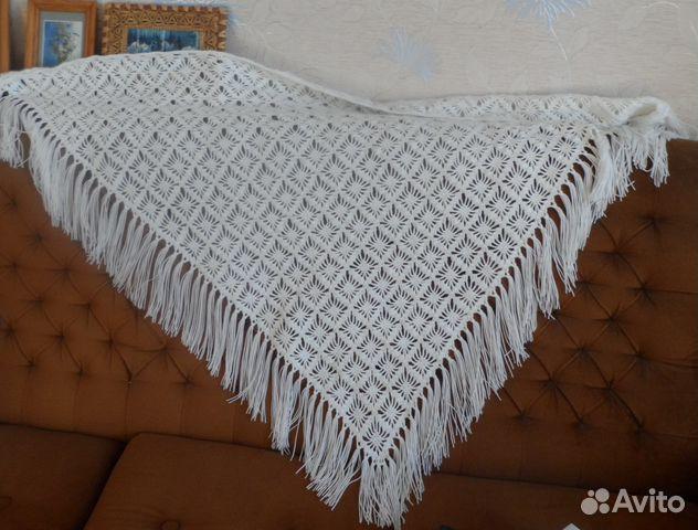 платки шали вязаные купить в кемеровской области на Avito