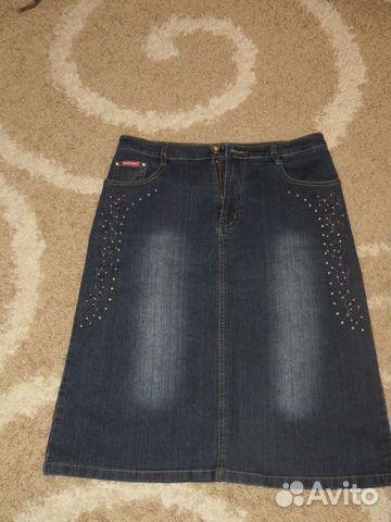 Куплю джинсовую юбку в стразах