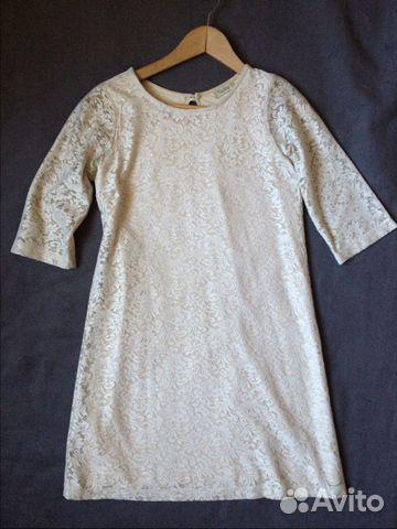 Платье кружевное трапеция