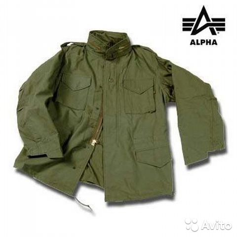 "Куртка M-65 ""Alpha Industries""— фотография №1"