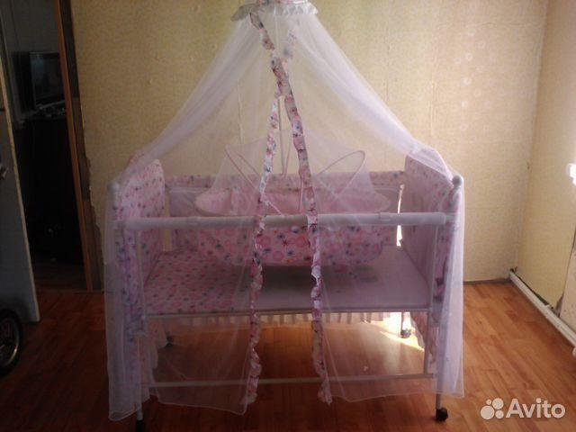 Детскую кроватку трансформер  авито