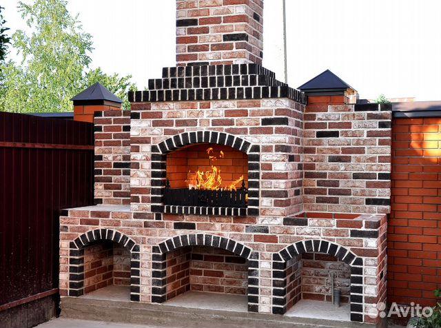 Строительство барбекю в городе ставрополе электрический камин в интерьере квартиры фото