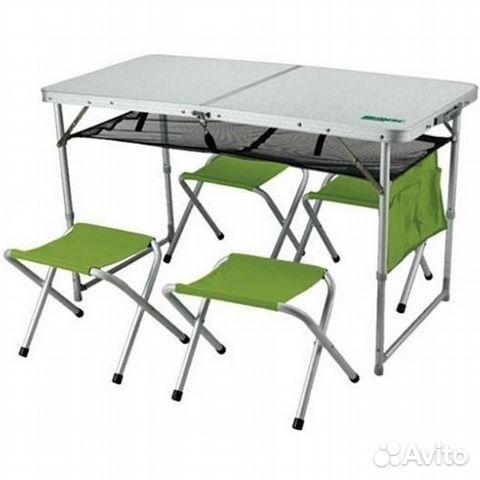 Столик для пикника со стульями