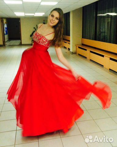 Вечернее платье на avito