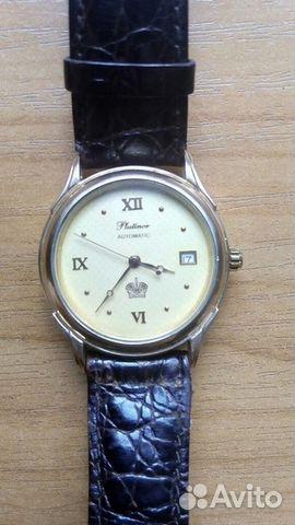 b725d9aa99cc Мужские золотые часы Platinor купить в Свердловской области на Avito ...