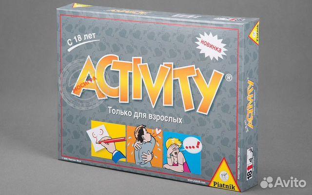 Настольная игра Активити Для Взрослых 18 купить можно
