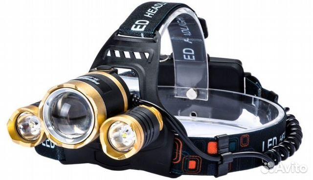для рыбалки и охоты налобный фонарь