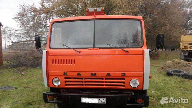 Камаз-55111 самосвал с прицепом