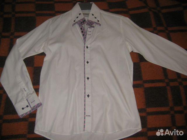 5b6f239e80c Стильная белая рубашка Sovrano Голландия
