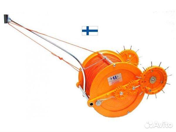лебедка для рыболовных сетей