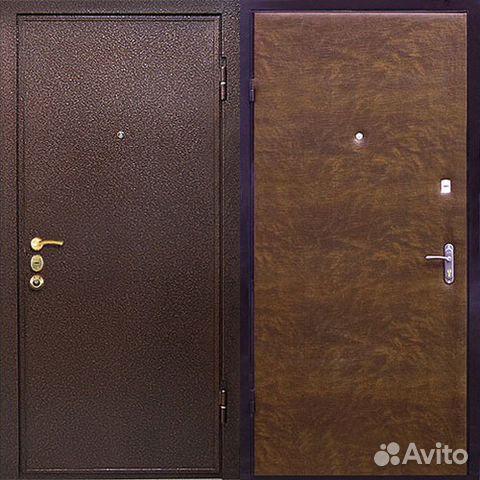 металлические двери за 7000