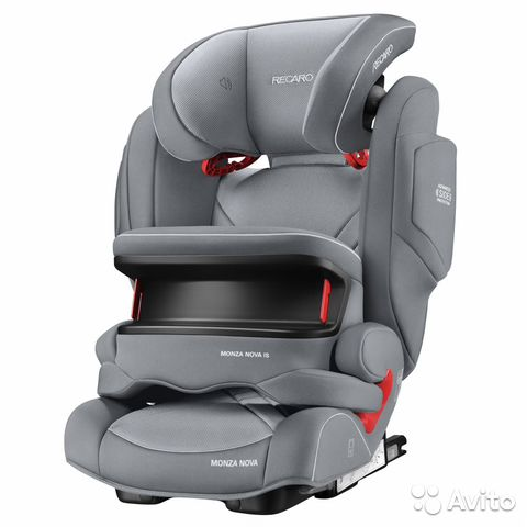 Автокресло Recaro monza nova is Grey Новое— фотография №1