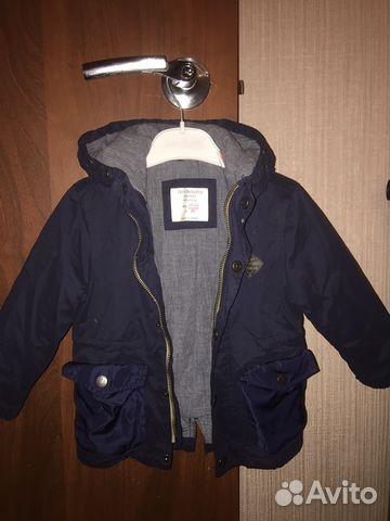 4d1914bd8cd Куртка-парка для мальчика Zara
