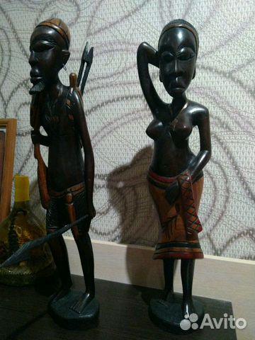 Деревянные статуэтки из Африки 89524807930 купить 1
