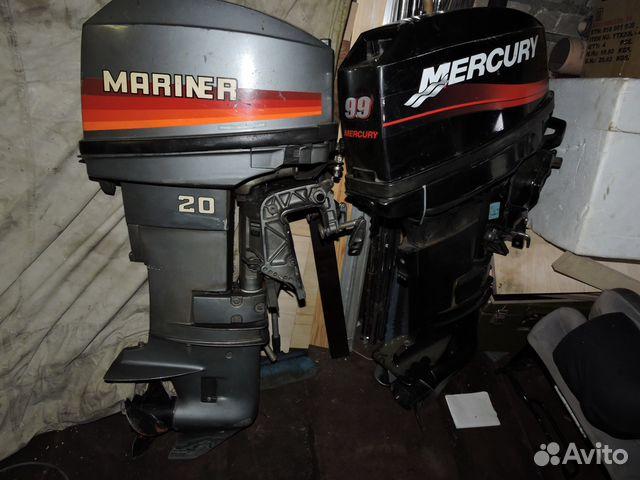 лодочные моторы меркурий маринер