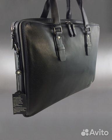 f503b090f023 Мужская сумка портфель Mont Blanc арт.1350 купить в Москве на Avito ...