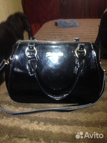 6ad11d39e439 Женская сумка натуральная лакированная кожа купить в Ярославской ...