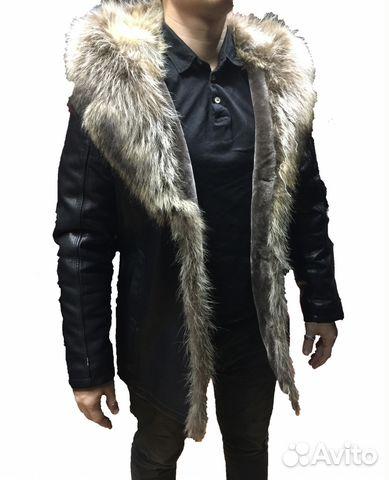 be283892bfa Зимние кожаные куртки и Пуховики с мехом. Мужские