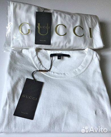 2e1a3097f94e Футболка Gucci оригинал новая - Личные вещи, Одежда, обувь, аксессуары -  Москва - Объявления на сайте Авито