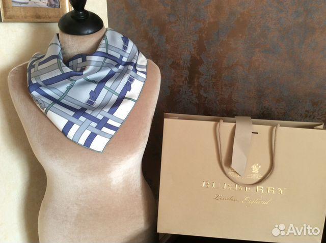 Платок Burberry, новый оригинал купить в Москве на Avito ... 3106c24a01b