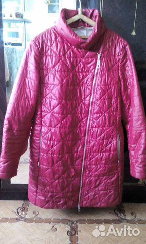 Куртка демисезонная женская. Размер 46-48 89243575950 купить 1