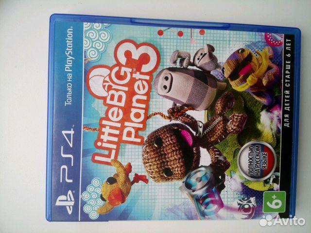 Игра для Sony playstation 4. Little big planet 3 89281991887 купить 1