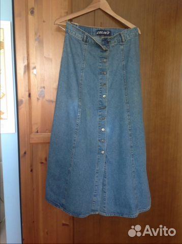 7b8f0f518 Джинсовые юбки купить в Москве на Avito — Объявления на сайте Авито