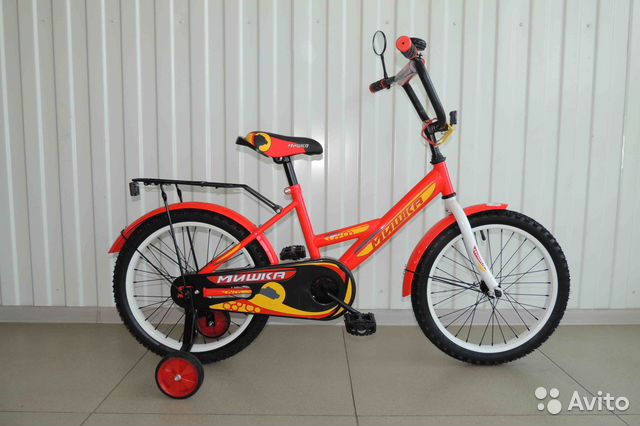 Велосипед Новый 18 Мишка, Red / В Кредит 89284666245 купить 2