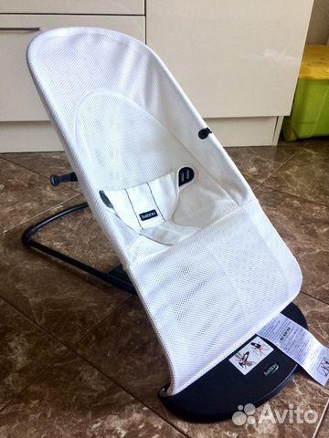 834a0a9a60c Кресло-шезлонг BabyBjorn Balance Soft Air