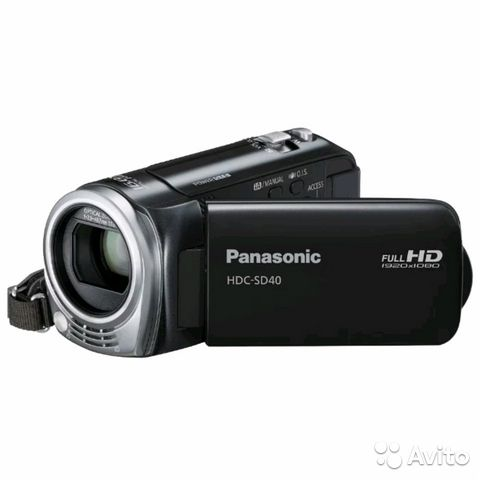 HD Видеокамера Panasonic HDC-SD40