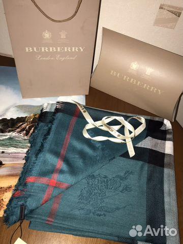 Платок Burberry оригинал купить в Москве на Avito — Объявления на ... bab10cb5d5d